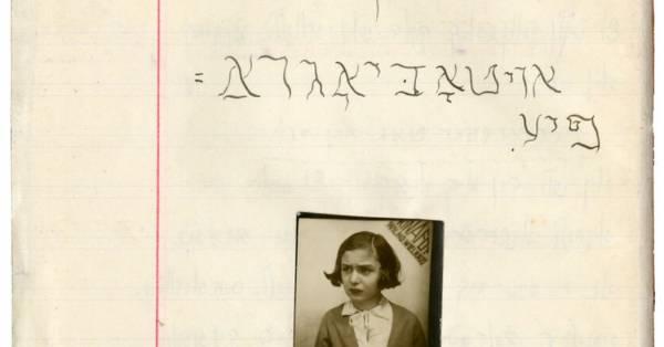 Online kiállítás mutatja be egy zsidó kislány mindennapjait